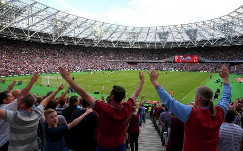 West Ham's new home goes from 'proper loud' to pin drop on day of extremes at London Stadium
