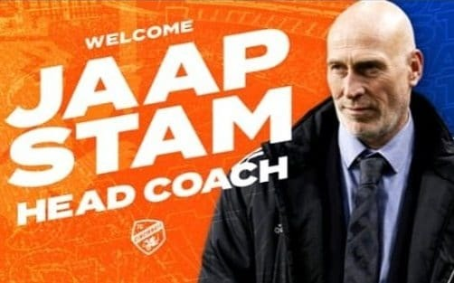 FC Cincinnati tweet picture of wrong man to announce Jaap Stam as new manager