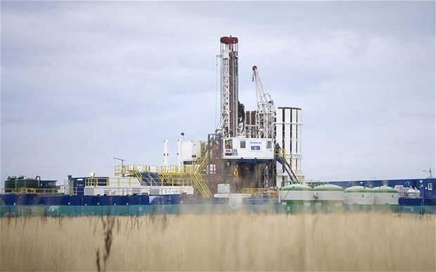 Church of England in 'fracking land-grab'