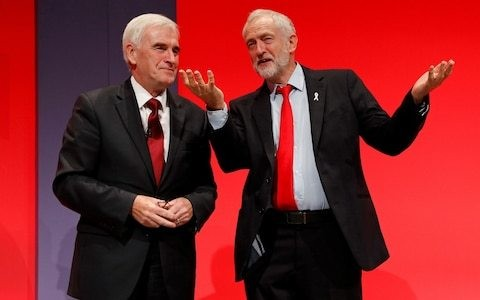 Jeremy Corbyn and John McDonnell to quit if Labour loses next election, says shadow chancellor