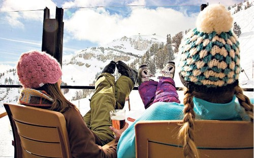 Jackson Hole: girl power in the powder