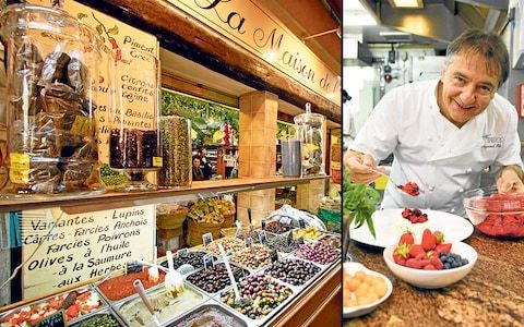 Where famous chefs love to eat