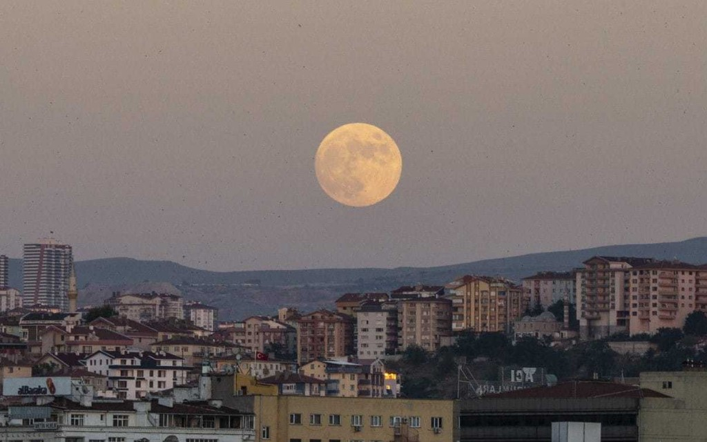 Full moon dates for 2020, including August's Sturgeon Moon