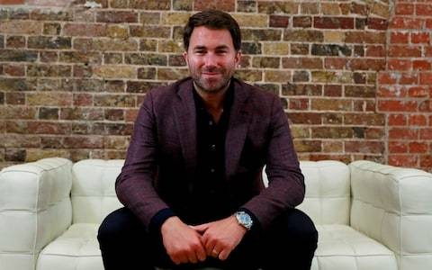 Never mind stonings, public executions, or human rights - Eddie Hearn is more than happy to follow the money