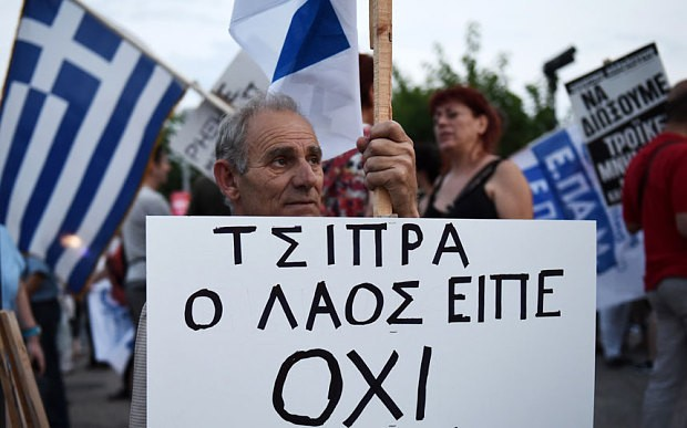24 hours to save the euro: Germany prepares for a 'temporary' Greek exit as euro project on the brink of collapse