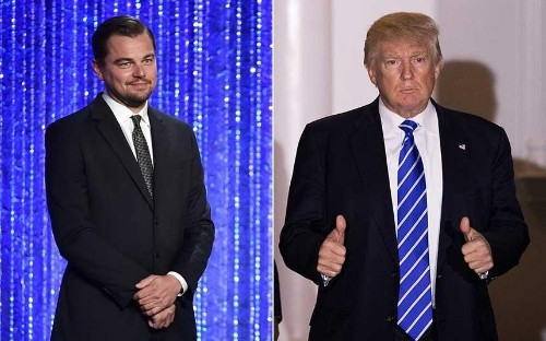 Leonardo DiCaprio meets with Donald Trump on green jobs to boost economy, as president-elect appoints climate sceptic to EPA