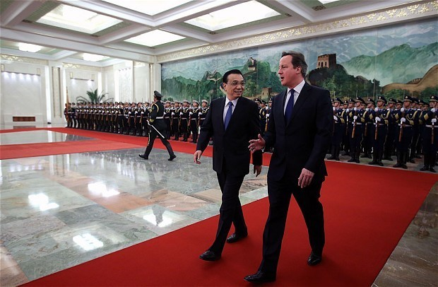 China ready to invest £50bn in UK infrastructure