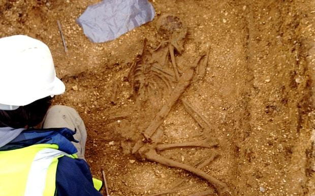 Iron Age man found buried with spears sticking out of him 'like a hedgehog'