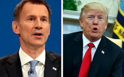 NHS chief hits back at Donald Trump over Twitter attacks on 'broke' NHS