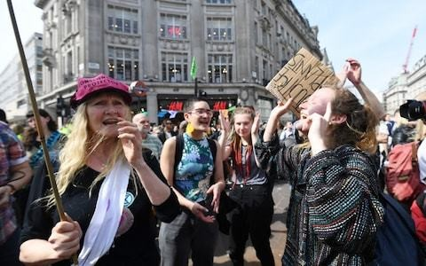 Do any of these smug, protesting green activists actually work for a living?
