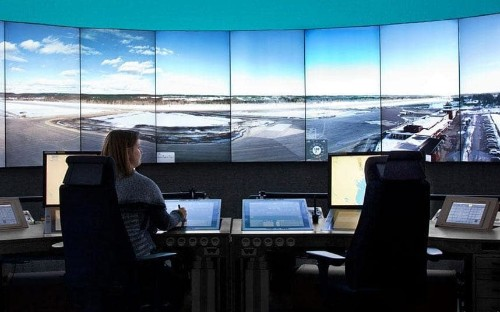 The world's first remote-controlled airport?