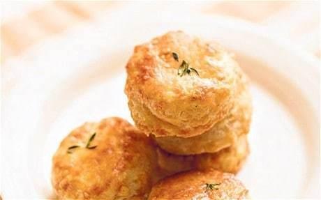 Rose Prince's Baking Club: parmesan shortbreads