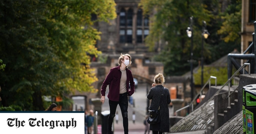 124 students at University of Glasgow contract coronavirus with hundreds more forced to isolate