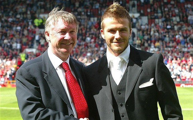 Sir Alex Ferguson and David Beckham are different men but with the same sense of adventure