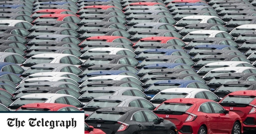 Car sales rebound eases pressure on automotive sector