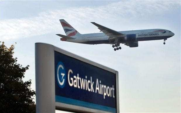 Armed police board Gatwick flight after cabin crew called 999 over fears pilot was drunk