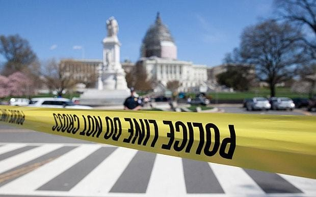 Capitol Building on lockdown after shots fired