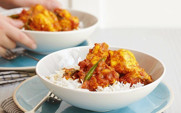 Rick Stein's fish curry with snapper, tomato and tamarind recipe