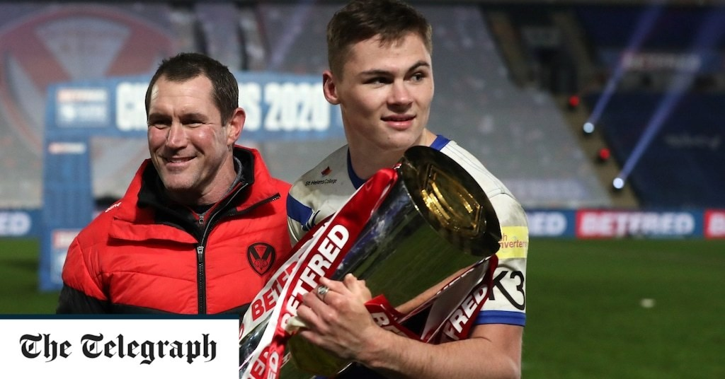 St Helens teenager Jack Welsby secures dramatic Grand Final victory with late try