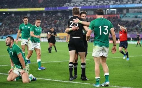 Tom Cary's verdict: Ireland's failure to turn up provided All Blacks with ideal platform for their champagne rugby
