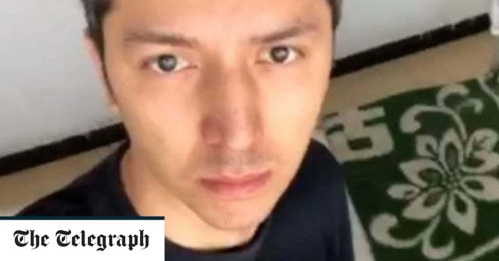 Uighur model films rare glimpse inside China re-education camp
