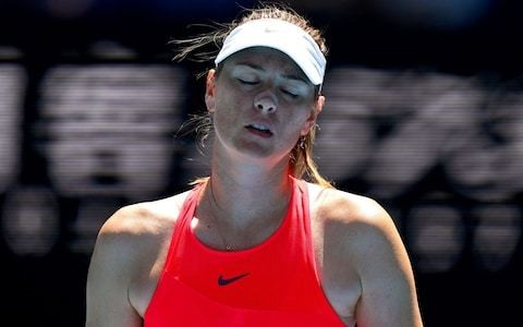 Maria Sharapova unsure what her future holds after Australian Open exit sees world ranking drop to 366