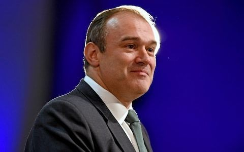 Stopping climate change probably more important than halting Brexit, says Ed Davey