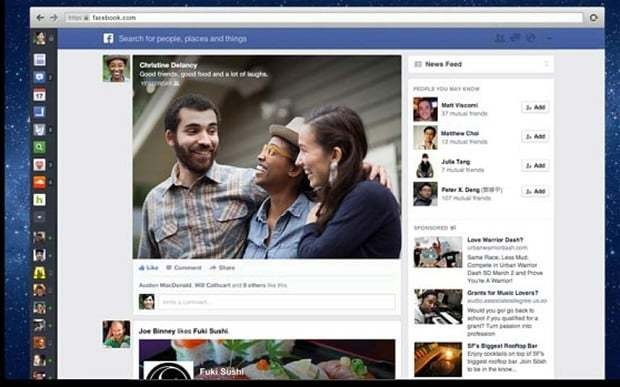 Facebook tests targeted advertising on News Feed