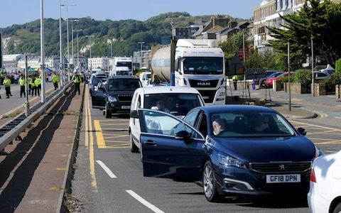 Extinction Rebellion protesters cause 'carnage' by 'gluing' themselves to A20 exit road near Port of Dover