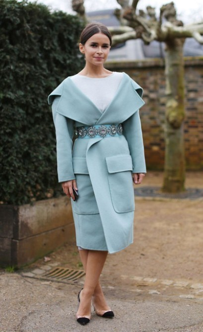 Lessons from the stylish: Miroslava Duma, 29, businesswoman
