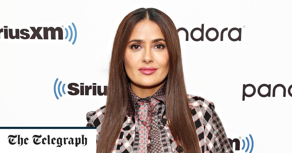 Salma Hayek: 'I'm glad I didn't have my daughter earlier'