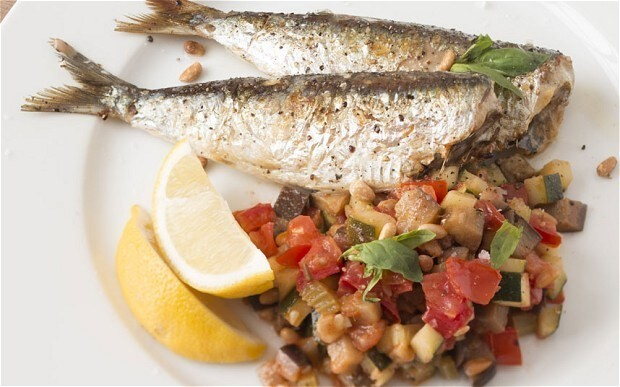 Speedy weeknight suppers: sardines with quick caponata