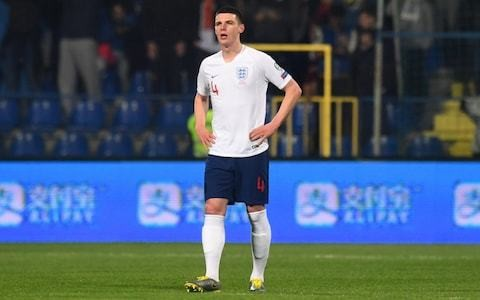 Declan Rice admits he feared England booing over pro-IRA social media post