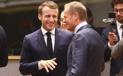 Emmanuel Macron demands new Brexit deadline of November 15