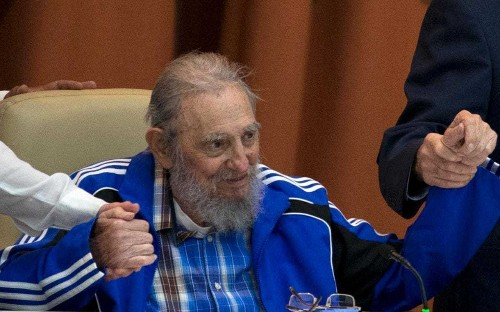 Fidel Castro bids farewell to Cuba's Communists as he says he will die soon