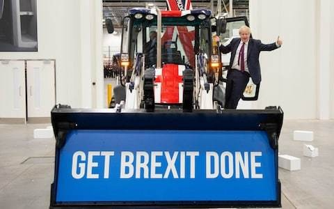Boris Johnson interview: It's been a long time since I painted any buses on boxes, says PM focused on the job ahead