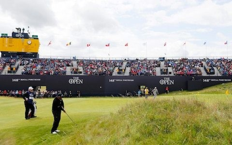 Shane Lowry gives the home fans some Open cheer as Rory McIlroy endures nightmare start