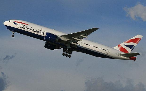 Jet stream blasts BA plane across Atlantic in record time