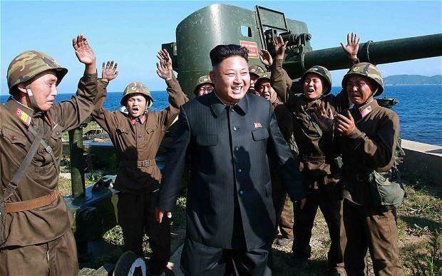 Kim Jong-un orders North Korean frontline troops onto war footing