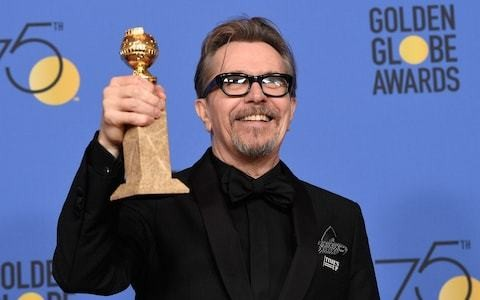 Why did Best Actor-winner Gary Oldman once call the Golden Globes 'fixed'?