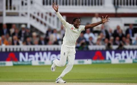 Speed demon Jofra Archer gives England a very un-English edge at Lord's