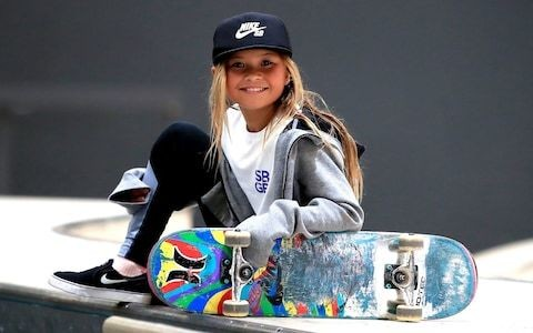 Sky Brown hoping Olympics will get more girls into skateboarding: 'If this crazy chick can do it, others might try'