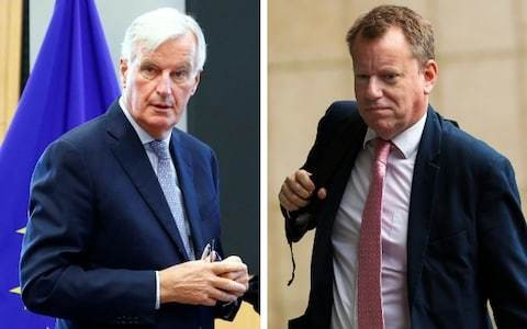 The 'disastrous' week of Brexit talks in Brussels which saw Britain and the EU move further apart