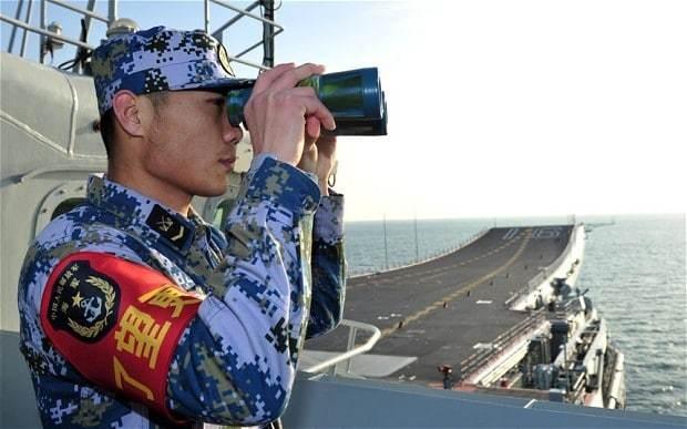 China training for 'short, sharp war' against Japan
