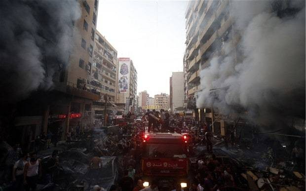 Car bomb kills six in Beirut Hizbollah stronghold