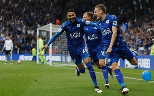 Leicester City 3 Everton 1: Claudio Ranieri's side run riot to complete the King Power party