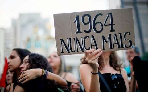 Brazilian education minister to revise school textbooks to deny 1964 military coup
