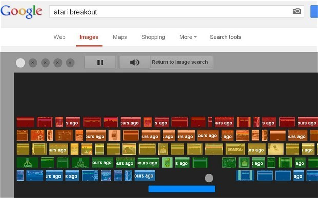 Celebrate 37 years of Atari's Breakout game: how to play via Google image search