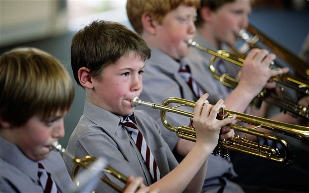 Children have been let down over music, say leading musicians