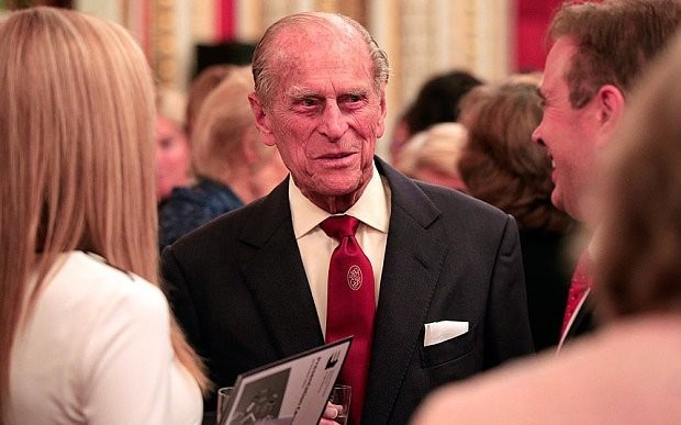 Prince Philip praises engineers as 'second only to God'